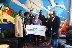 Donation to The Roberts Centre Portsmouth
