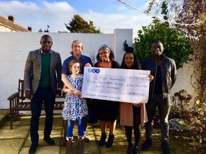 Donation to Cystic Fibrosis Kids (CFK) Portsmouth