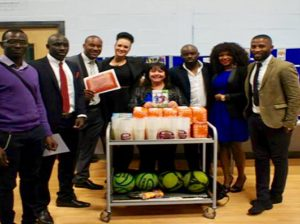 Donation to the Youth at Charles Dickens Centre