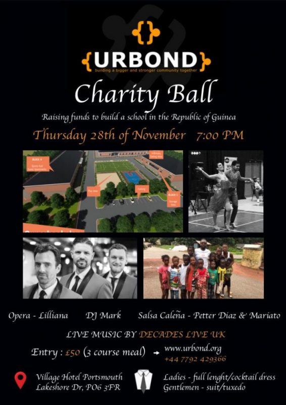 URBOND Charity Ball 2019 (Tickets now on sale)