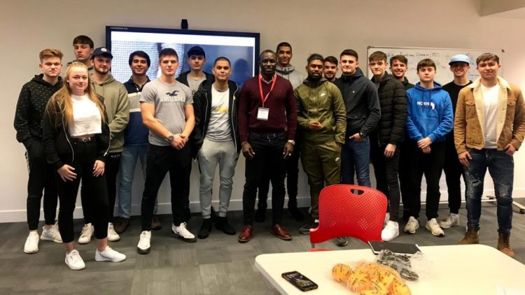 Solent University (Southampton) students get to know more about URBOND