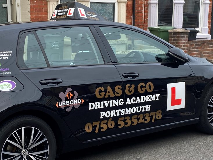Gas & Go Driving Academy Portsmouth supports our Child Education Programme in Guinea.