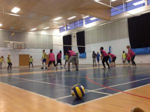 Launched Community Volleyball Project.