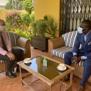 URBOND Representative meets the British Ambassador in the Republic of Guinea