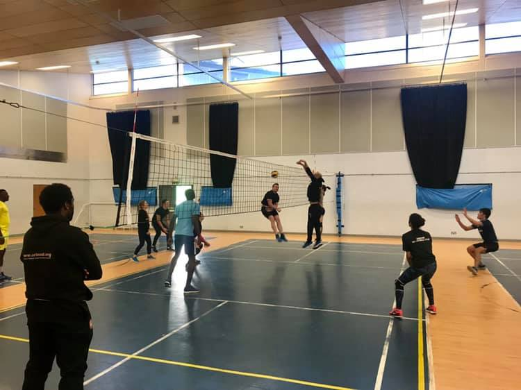 Community Fitness & Volleyball Session
