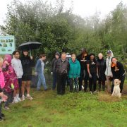 URBOND join forces with Baffins Pond Association, Portsmouth Tree Wardens and Charles Dickens Community Orchards for tree maintenance at Stagg Woods.